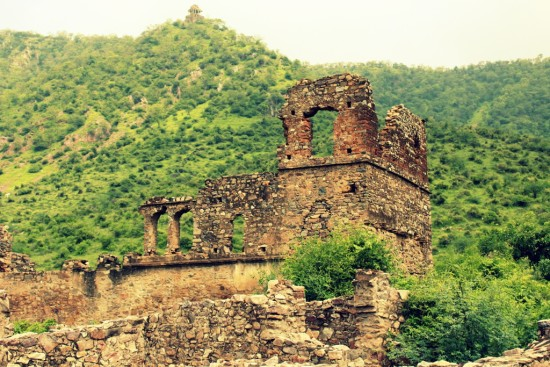 Remains of the Dance Haveli in Bhangarh