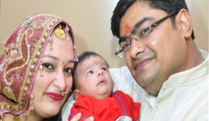 Abhishek Dixit blessed with baby