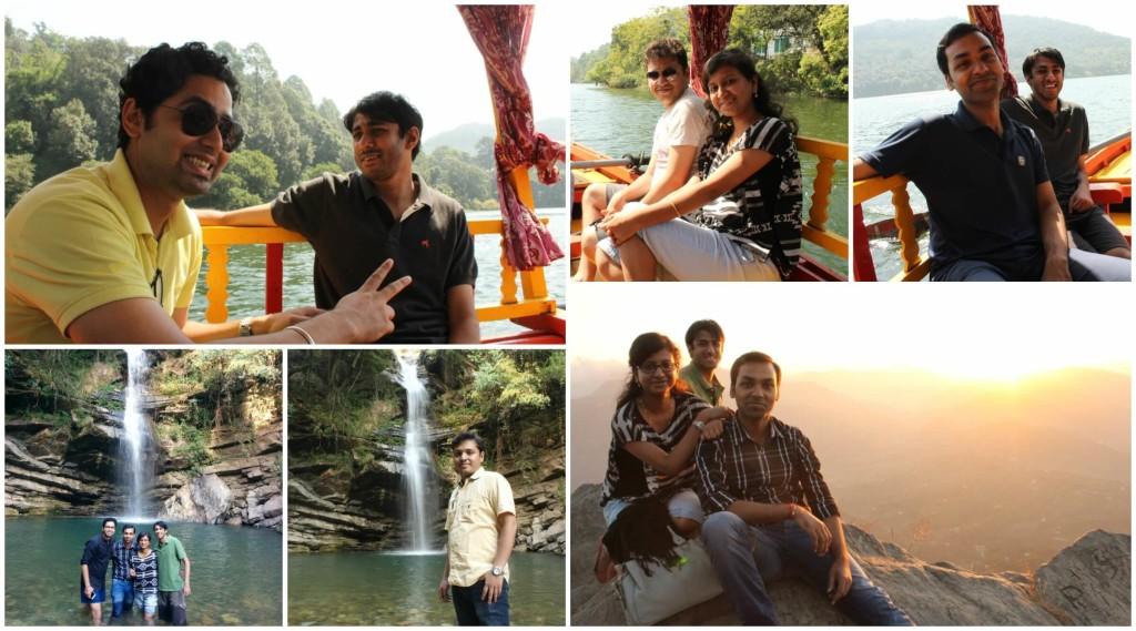 Abhijnan (LTMHPS), Ananya, Abhishek, Anubhav and Vignesh (LTEN) on trip to Naukuchiataal