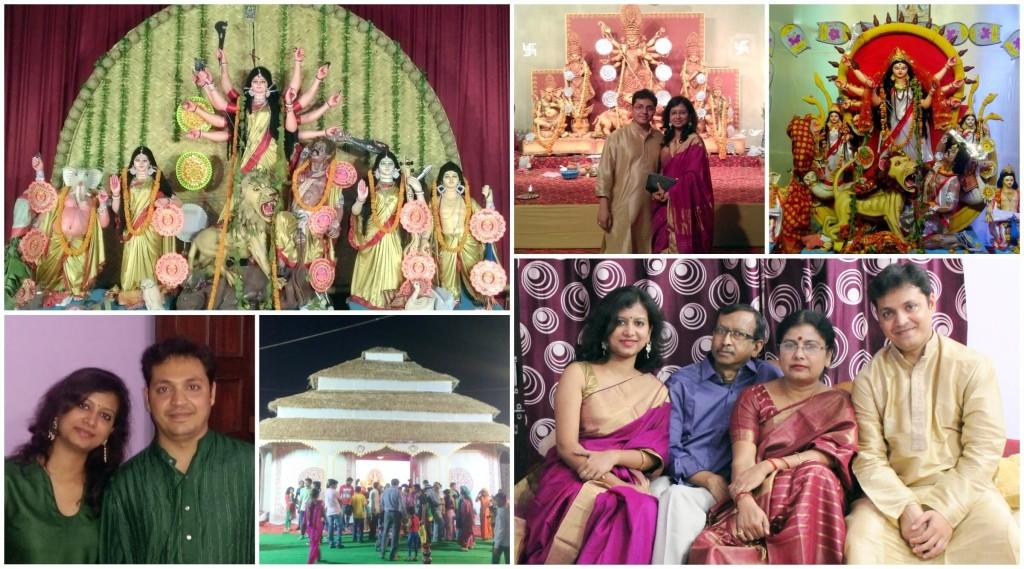 Abhijnan Mukherjee (LT MHPS) and Ananya Majumdar (LTEN) Durga Puja Celebrations