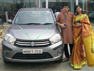 Abhijnan Mukherjee (LT MHPS) and Ananya Majumdar (LTEN) 's - New Car
