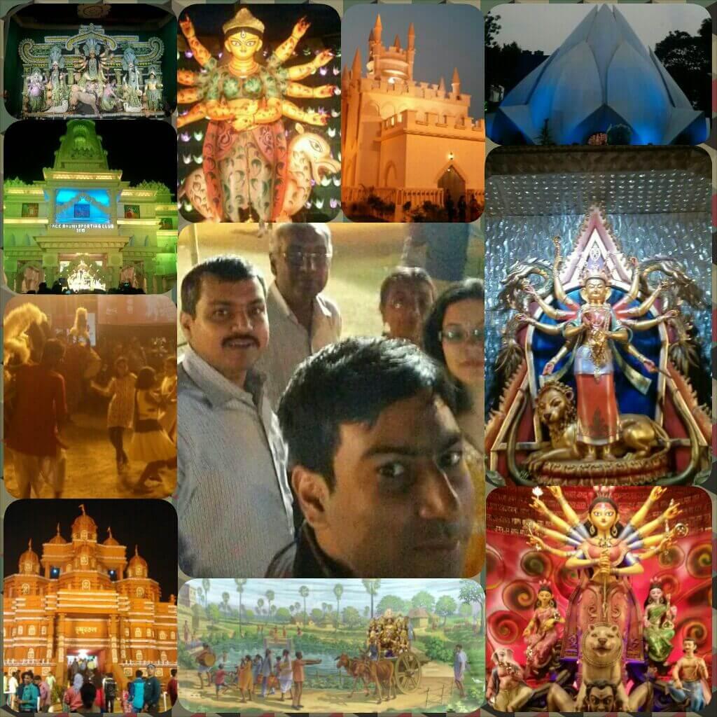Bidhan Kundu Durga Puja Celebration