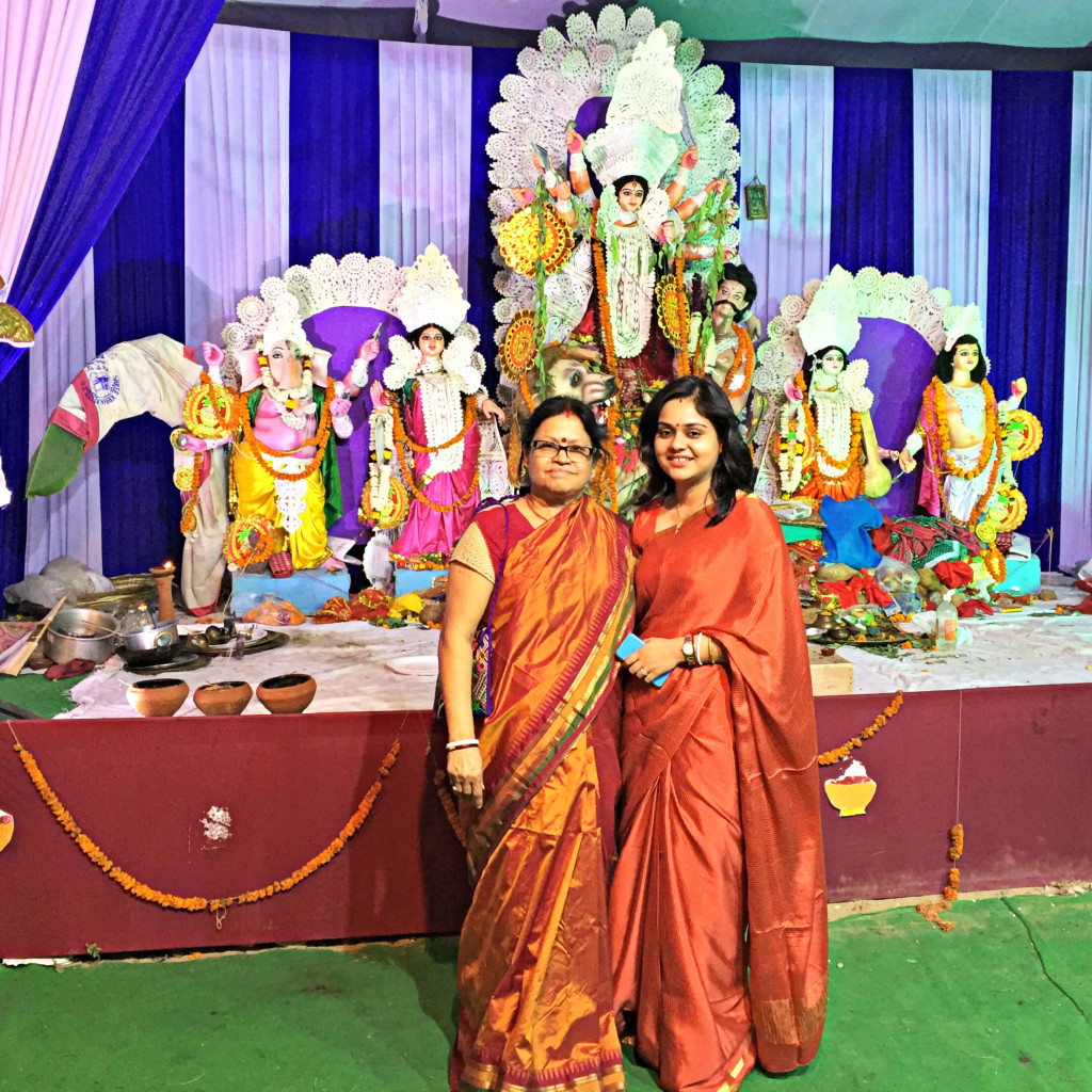 Shambhavi and Mummy