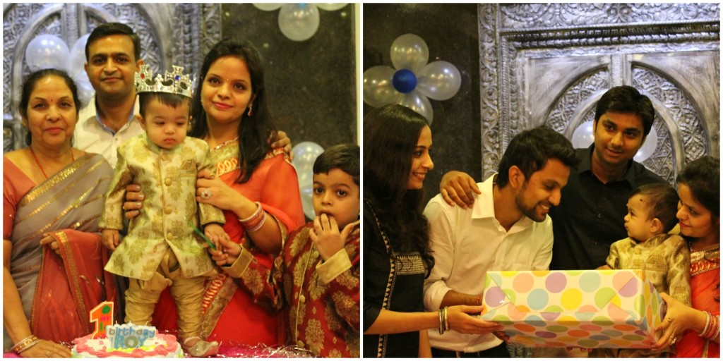 first b'day celebrations of Baby Vihaan Jain- youngest son of Mr. Nitesh Jain (HSE, LTEN) & Mrs. Nupur Jain