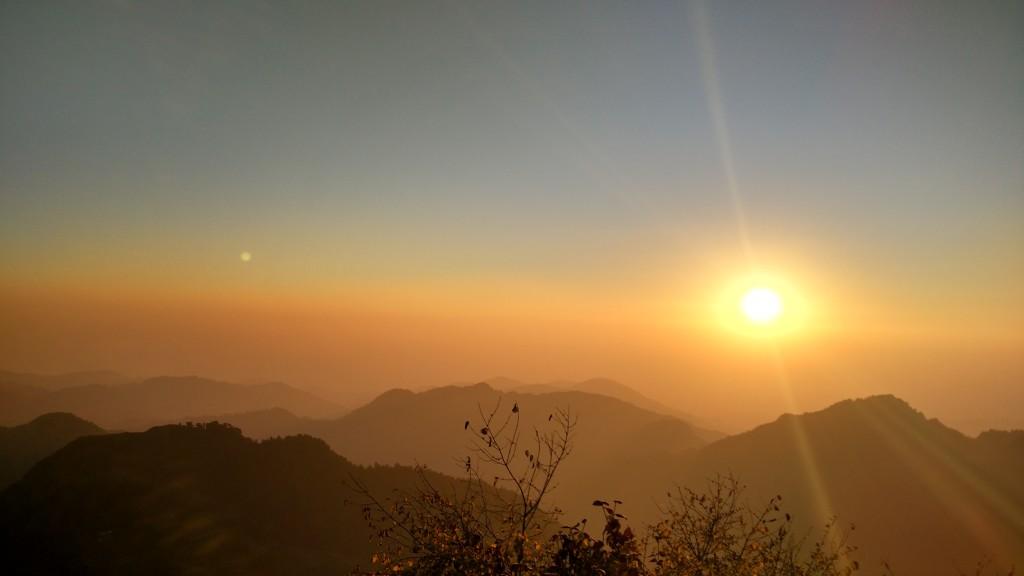 Mountain Sunset - Sanat Pradhan (LT Howden)