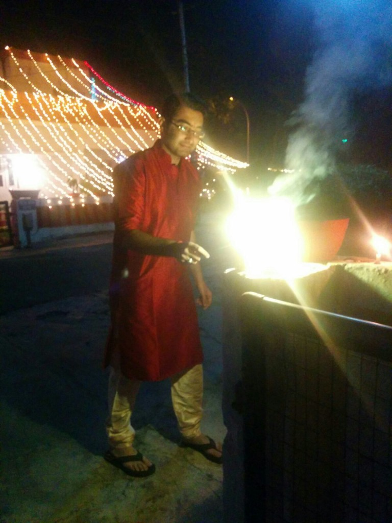 Prashant Rajpoot (LT MHPS) - Diwali Celebration