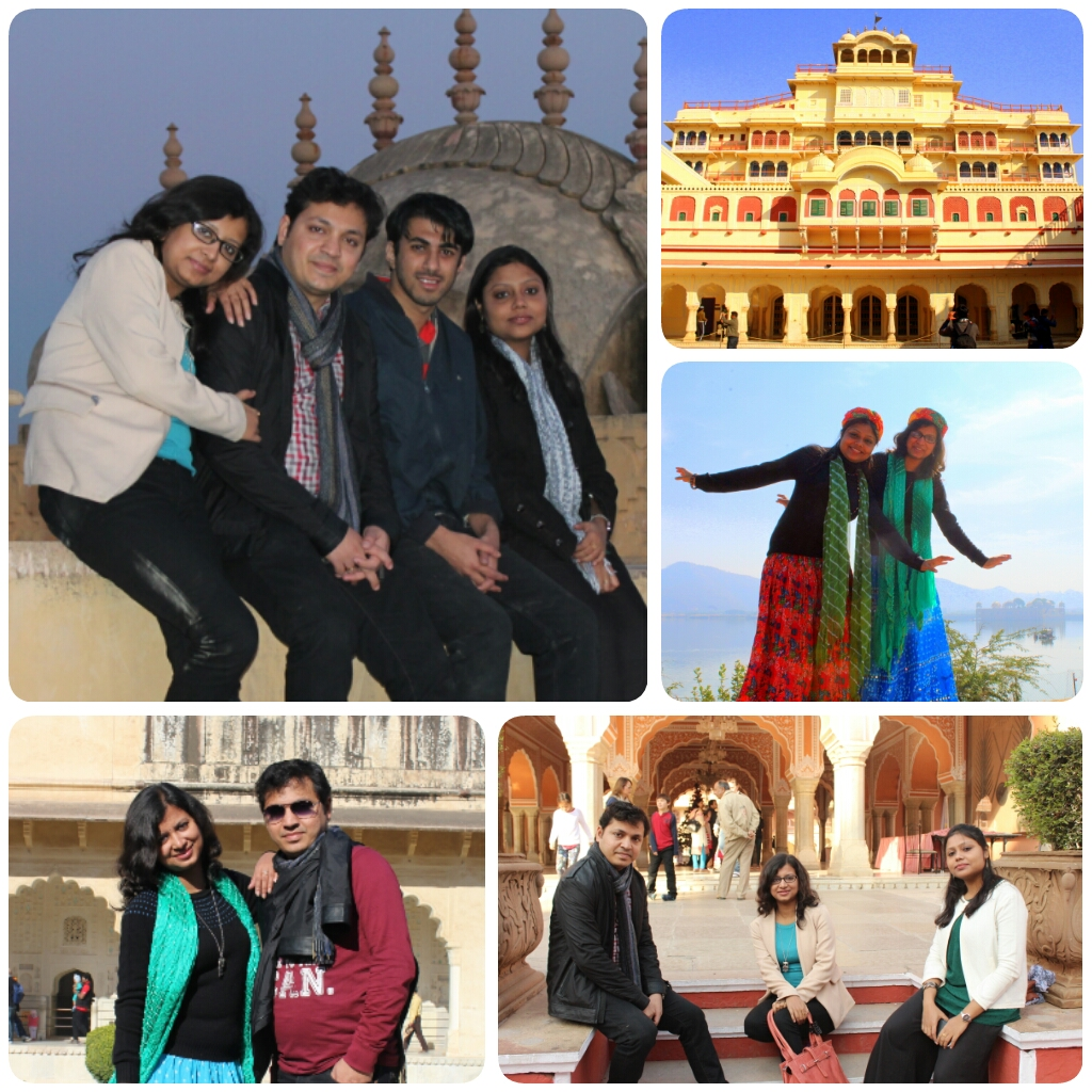 Abhijnan Mukherjee (LT MHPS), Ananya Majumdar, Bijetree Bhattacharya and VIgnesh (LTEN) - Jaipur Trip