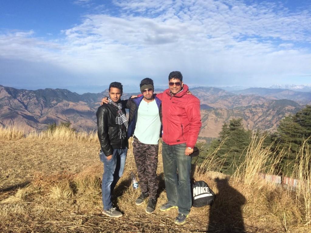 Ashok, Shashank and Meet (LTEN)- Shimla Trip