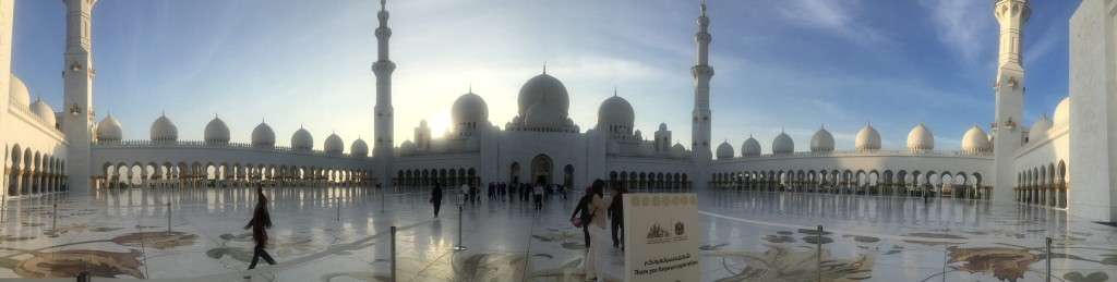 Shruti Vairagkar (LT Howden) - The Grandness that is Sheikh Zayed Mosque, Abu Dhabi