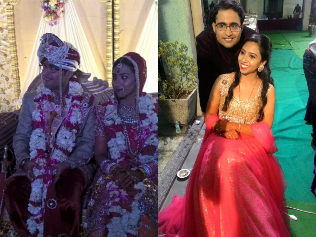 Mridima, daughter of Arvind Singh(LMB) married Abhishek narula(LMB)