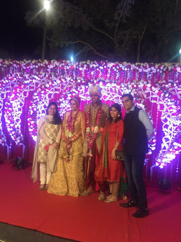 Shruti Vairagkar (LT Howden) - At Friends wedding