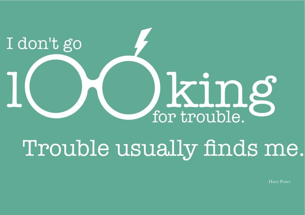 Trouble - Harry Potter