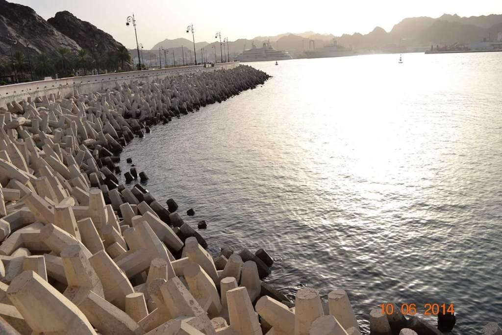 Rijul Durgaprasad Nadkarni (LT RLBU) Corniche , Muscat , Oman