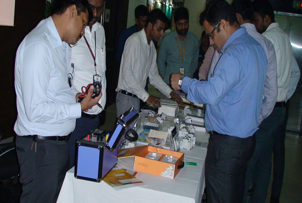 Demo session of various safety applications