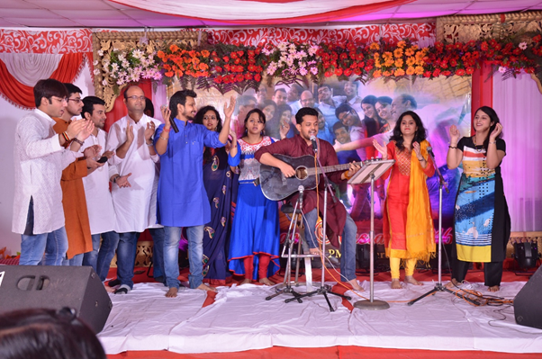 Musical performance by Team Surban