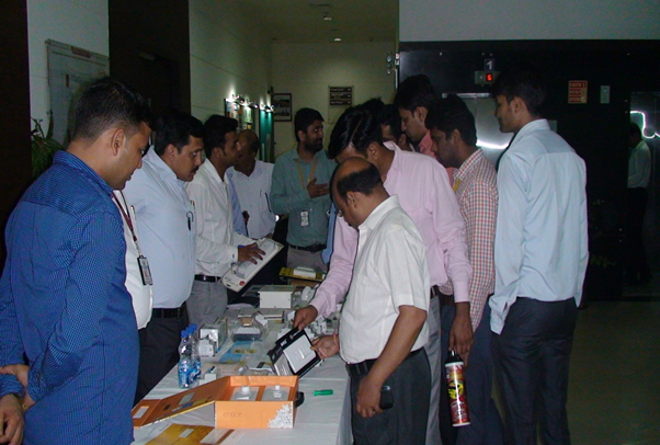 Demo session of various safety application