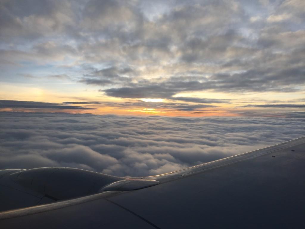 Sky from flight