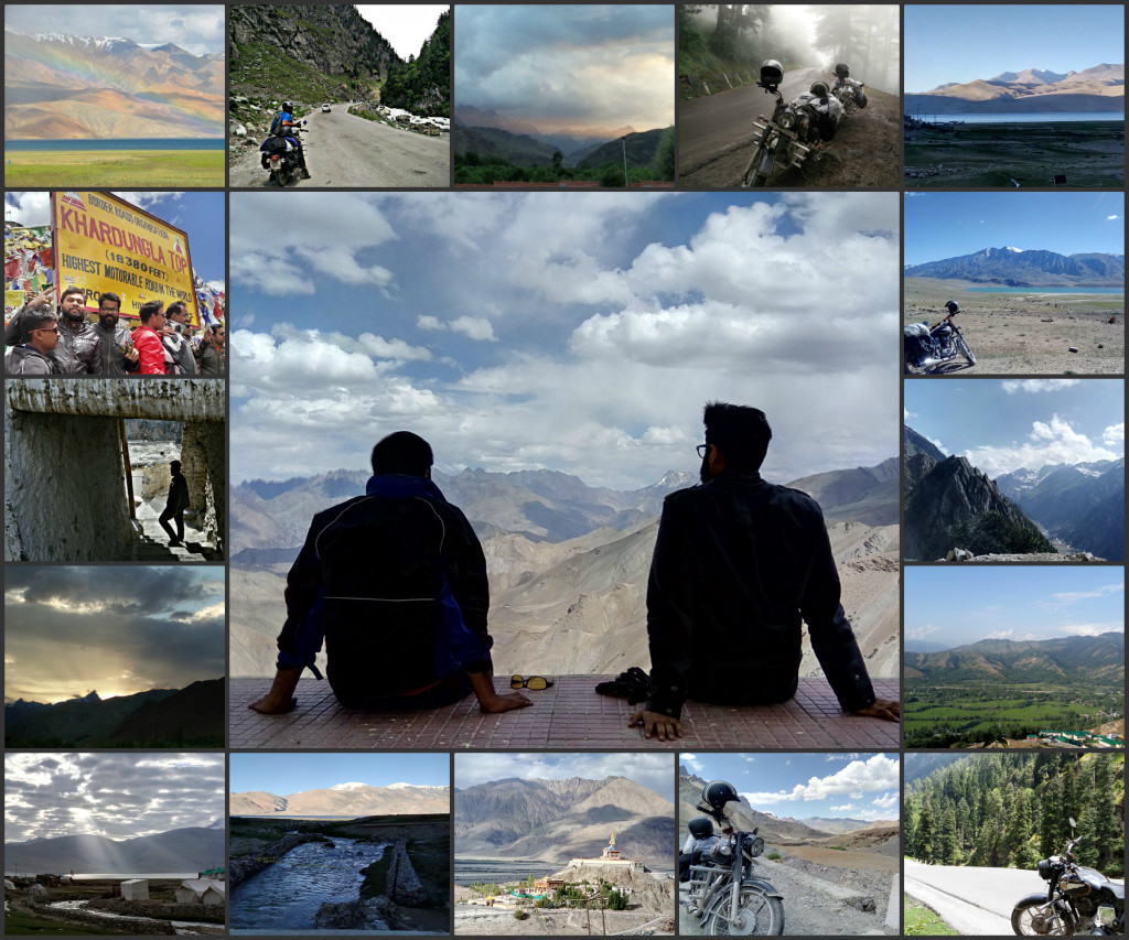Sudhanshu's Bike Trip to Ladakh