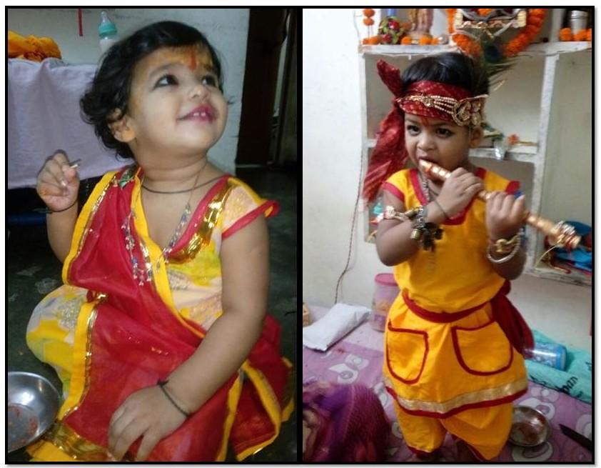 Ramkesh Rathaur's (LT MHPS) Kids - Avikam & Ritisha