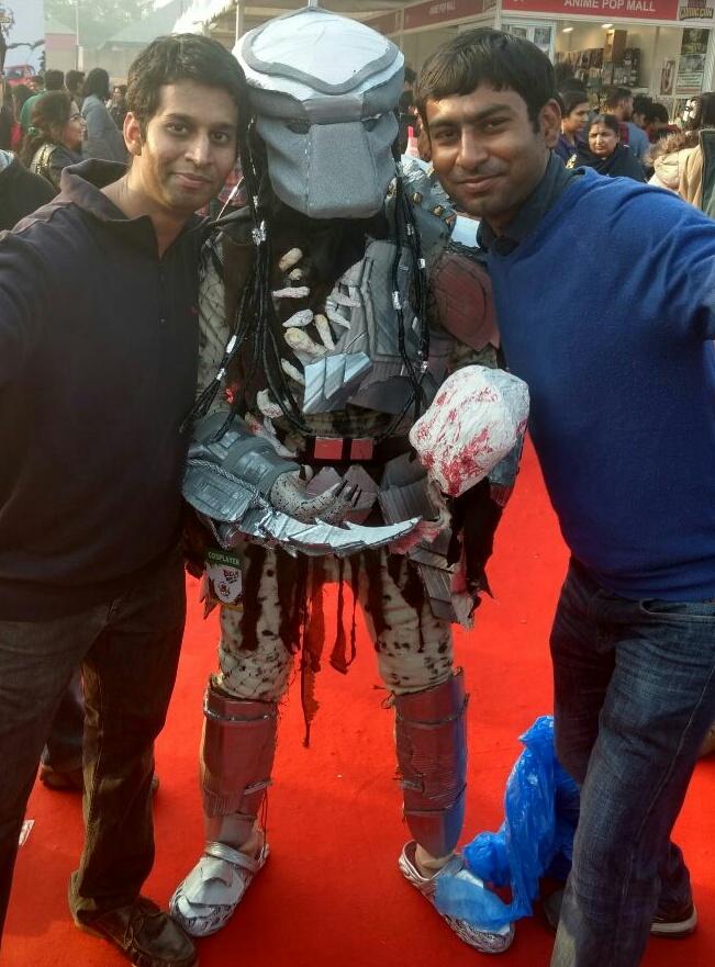 bidhan-kundu-visit-to-comic-con-festival